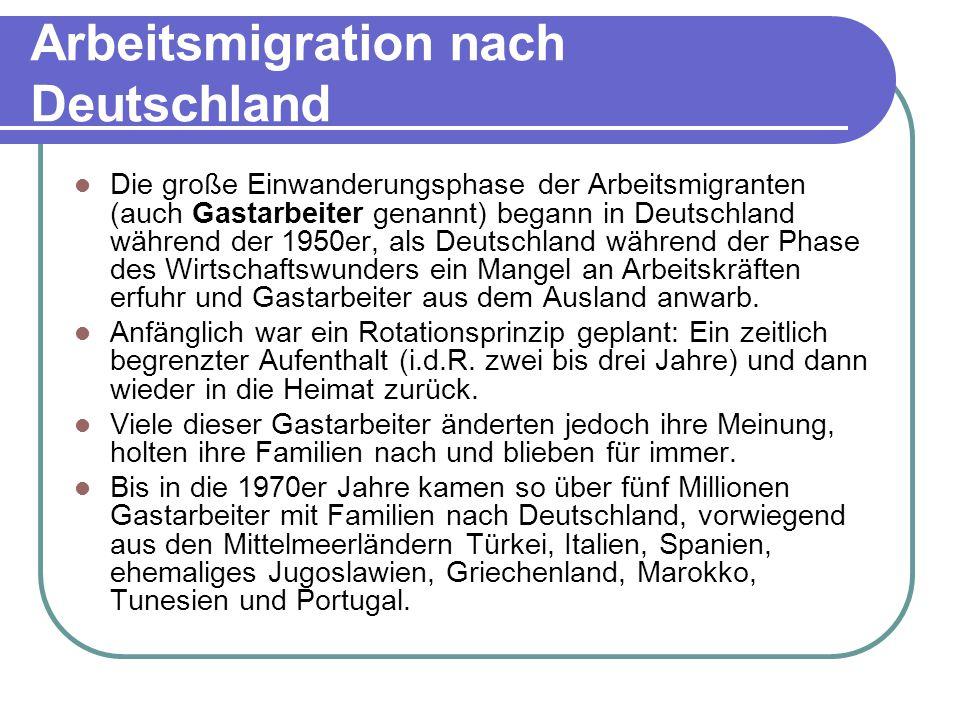 Arbeitsmigration nach Deutschland