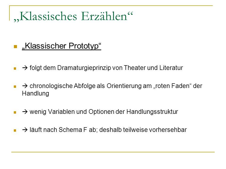 """""""Klassisches Erzählen"""