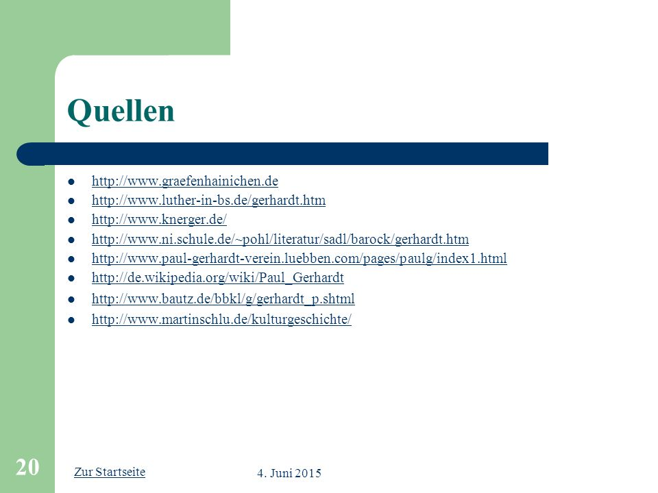 Quellen http://www.graefenhainichen.de