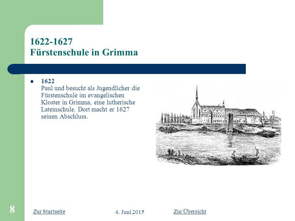 1622-1627 Fürstenschule in Grimma
