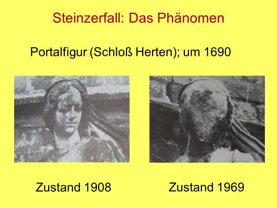 Steinzerfall: Das Phänomen