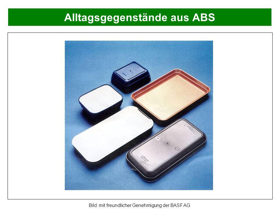 Alltagsgegenstände aus ABS