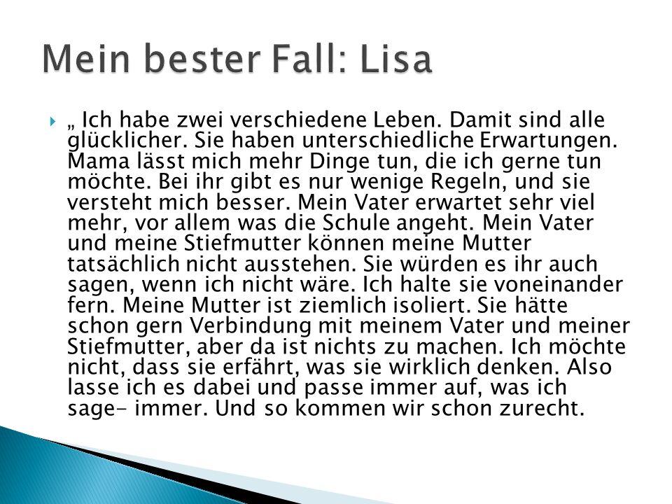 Mein bester Fall: Lisa