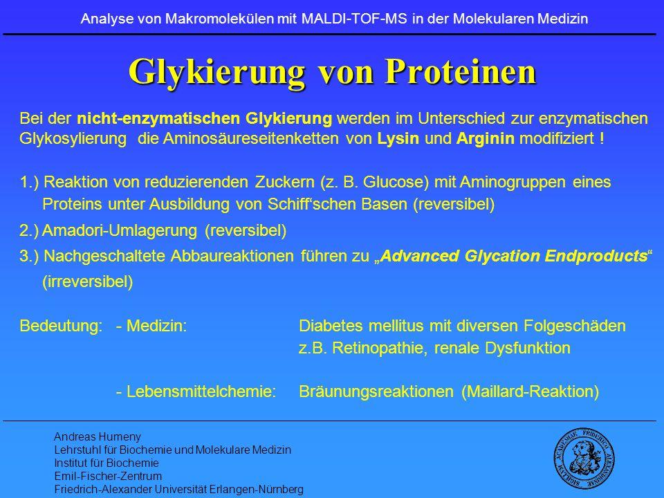 Glykierung von Proteinen