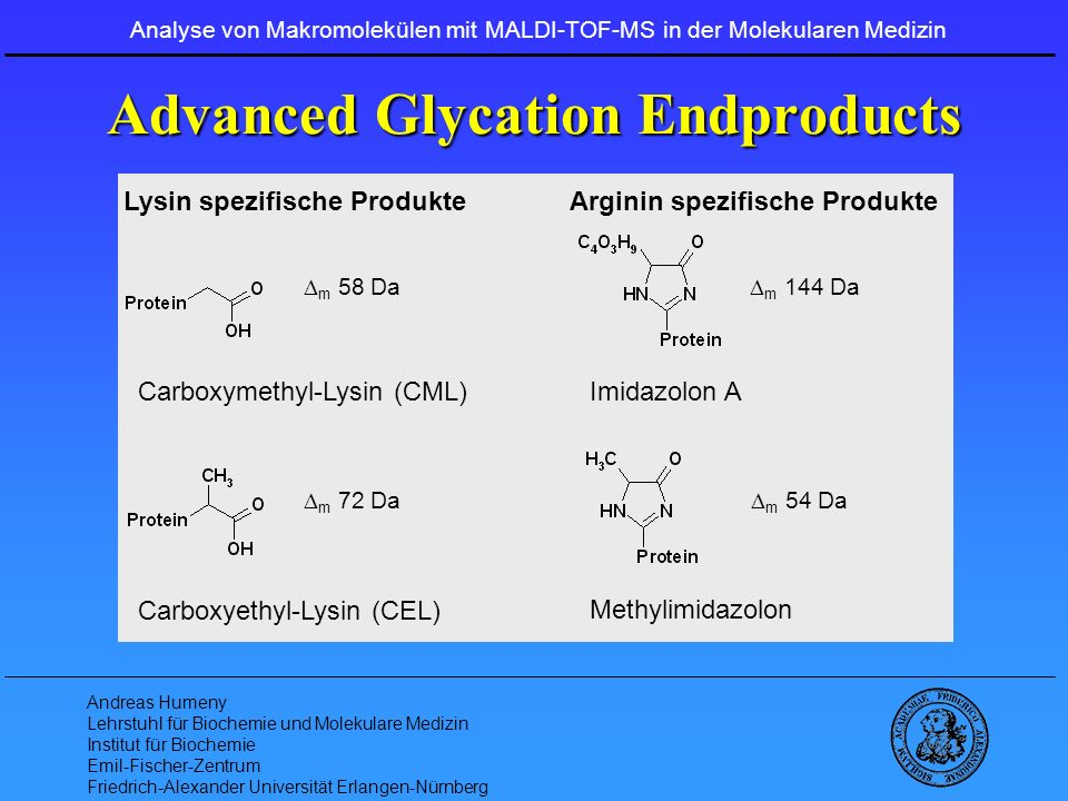 Advanced Glycation Endproducts