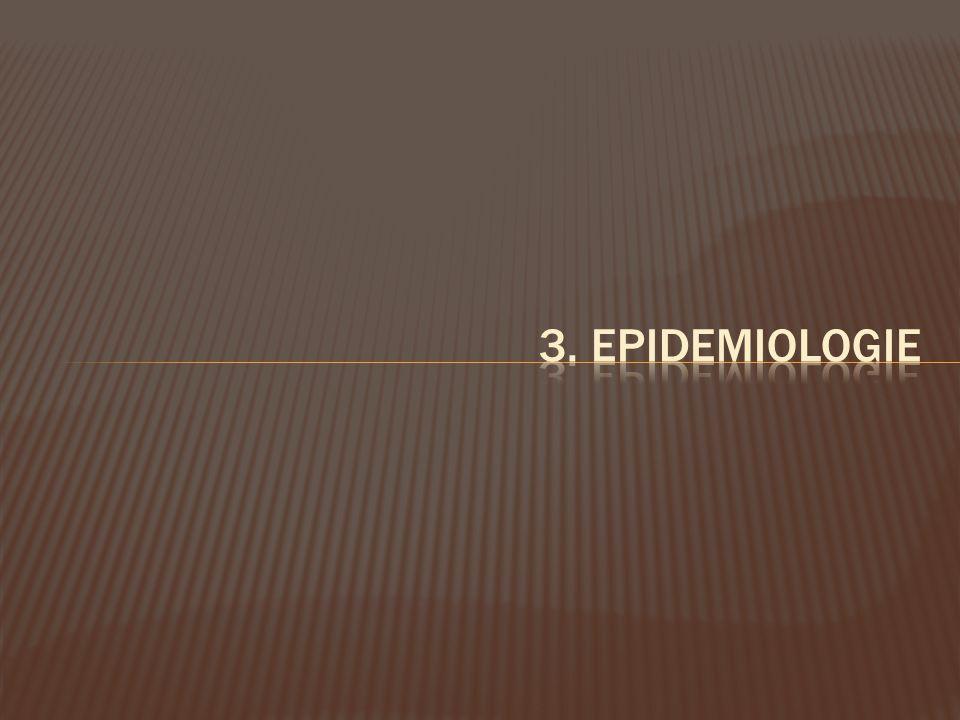 3. Epidemiologie