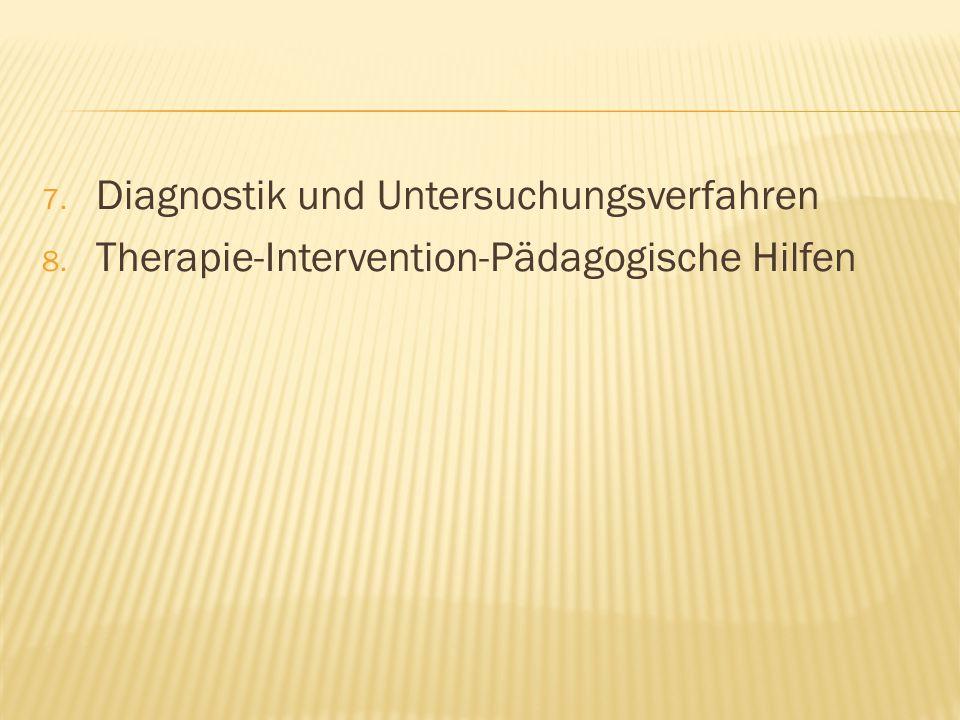 Diagnostik und Untersuchungsverfahren