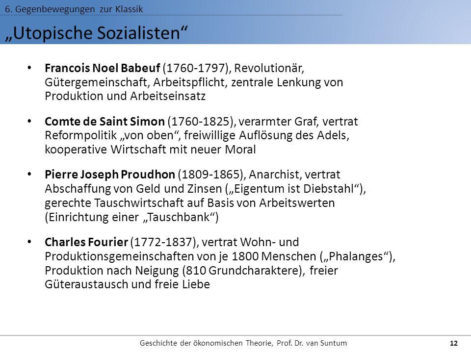 """""""Utopische Sozialisten"""