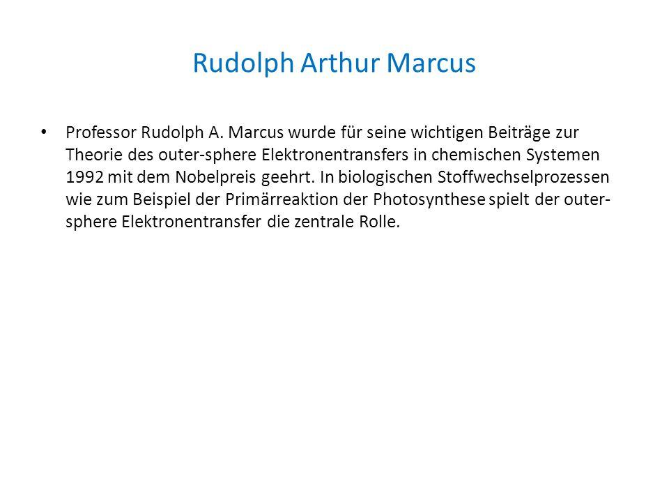 Rudolph Arthur Marcus