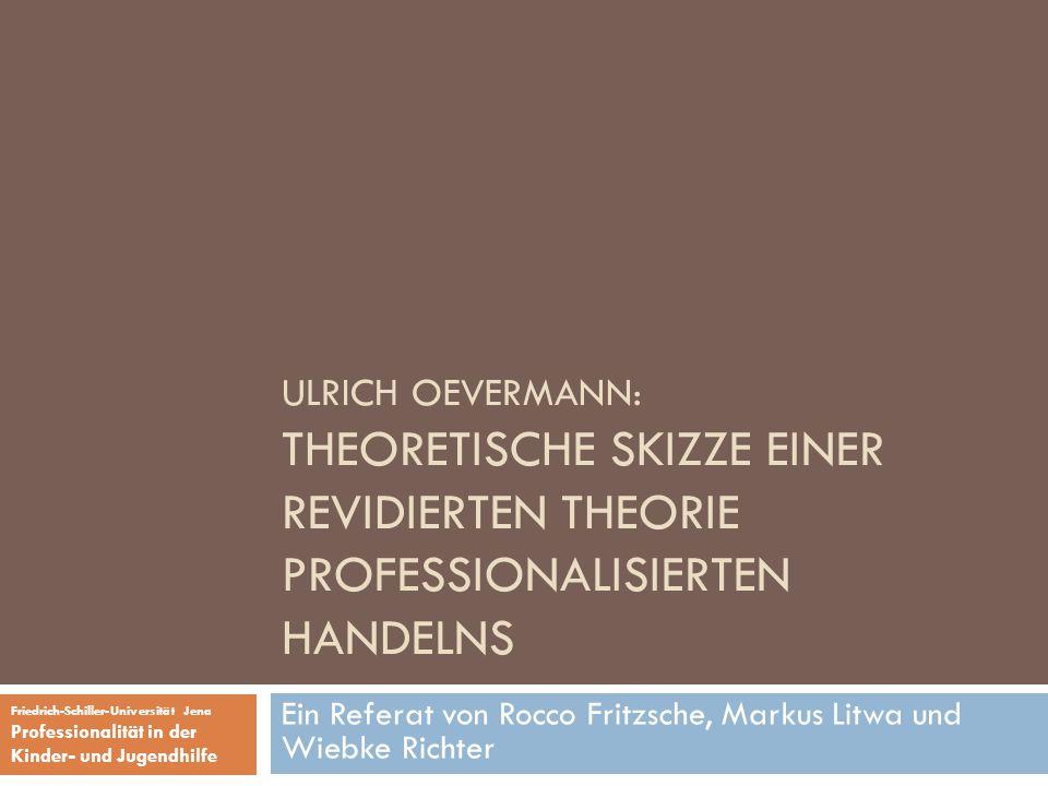 Ein Referat von Rocco Fritzsche, Markus Litwa und Wiebke Richter
