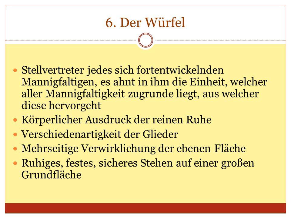 6. Der Würfel