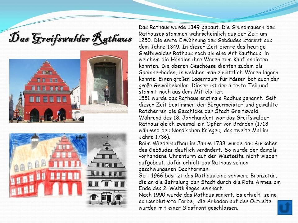 Das Greifswalder Rathaus