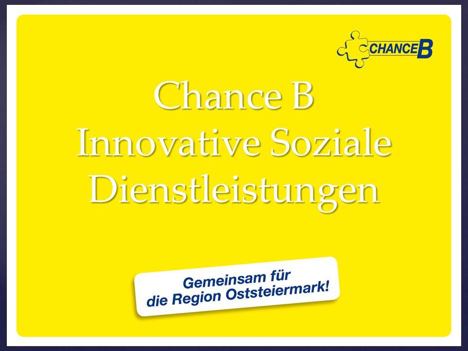 Chance B Innovative Soziale Dienstleistungen