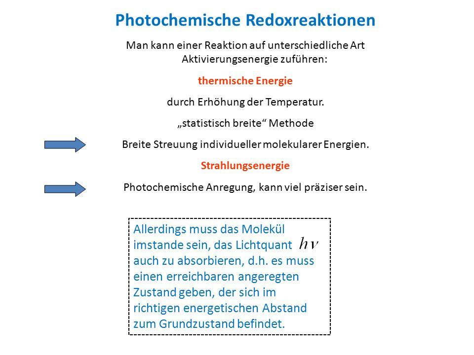 Photochemische Redoxreaktionen