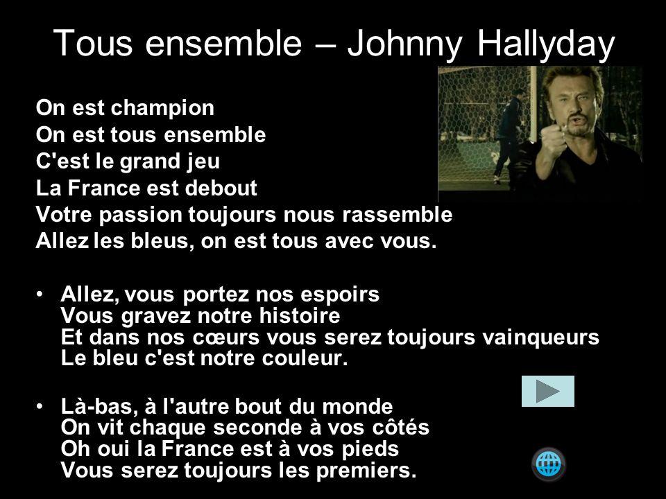 Tous ensemble – Johnny Hallyday