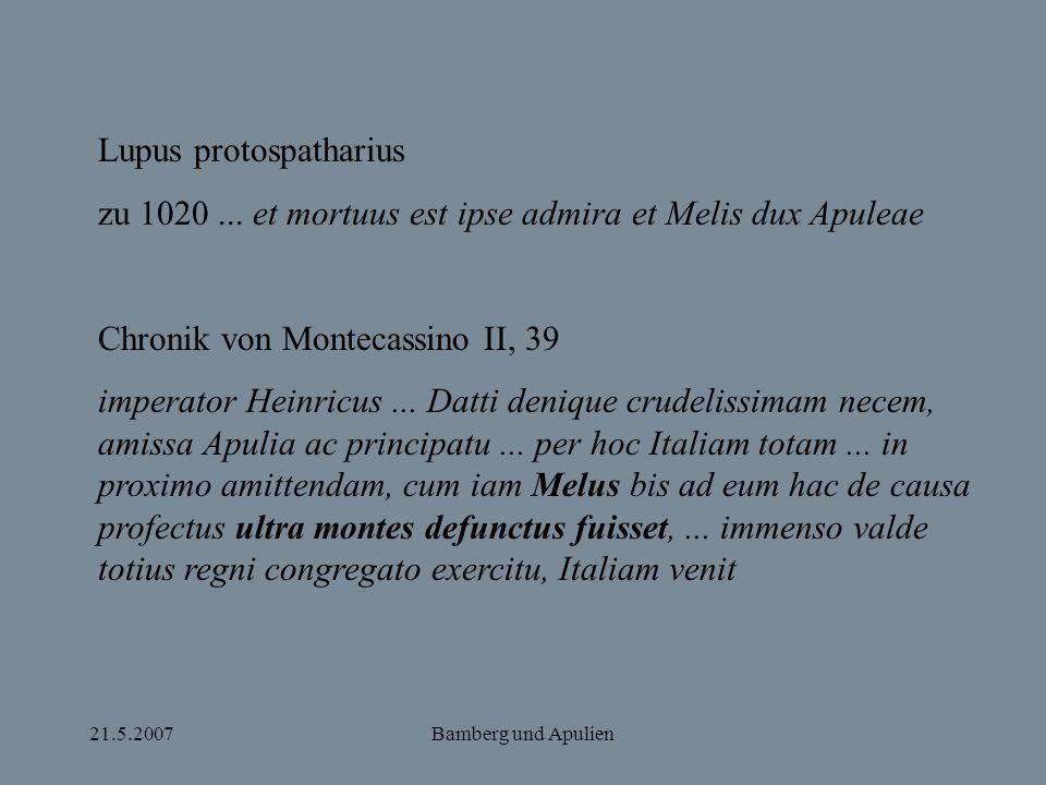 Lupus protospatharius