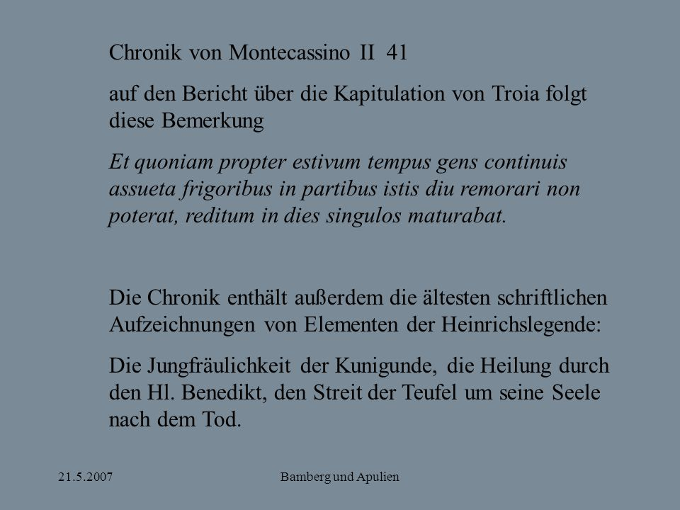 Chronik von Montecassino II 41