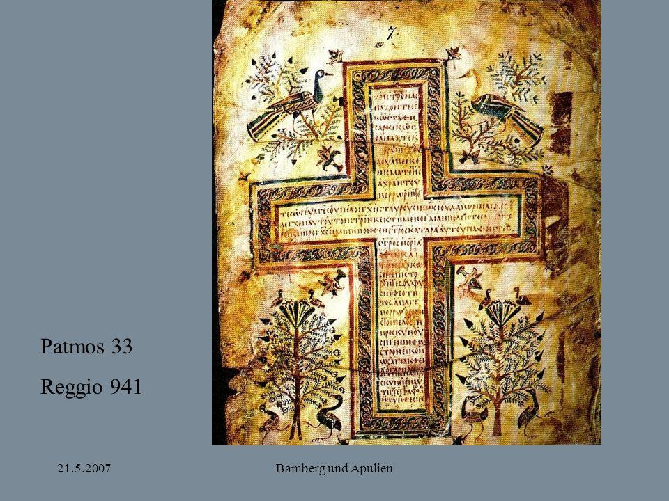 Patmos 33 Reggio 941 21.5.2007 Bamberg und Apulien