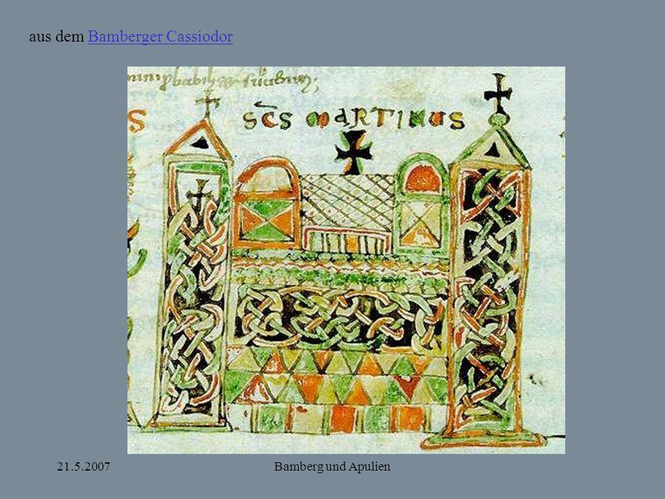 aus dem Bamberger Cassiodor