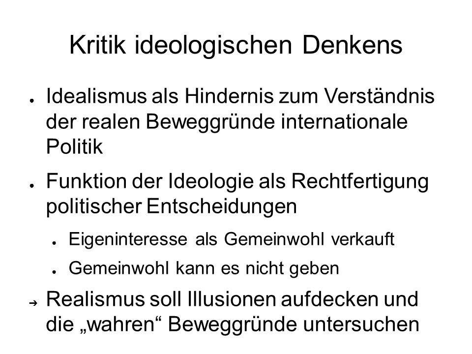 Kritik ideologischen Denkens