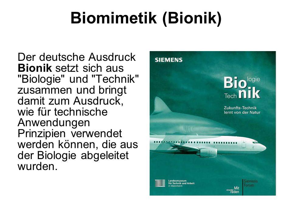 Biomimetik (Bionik)