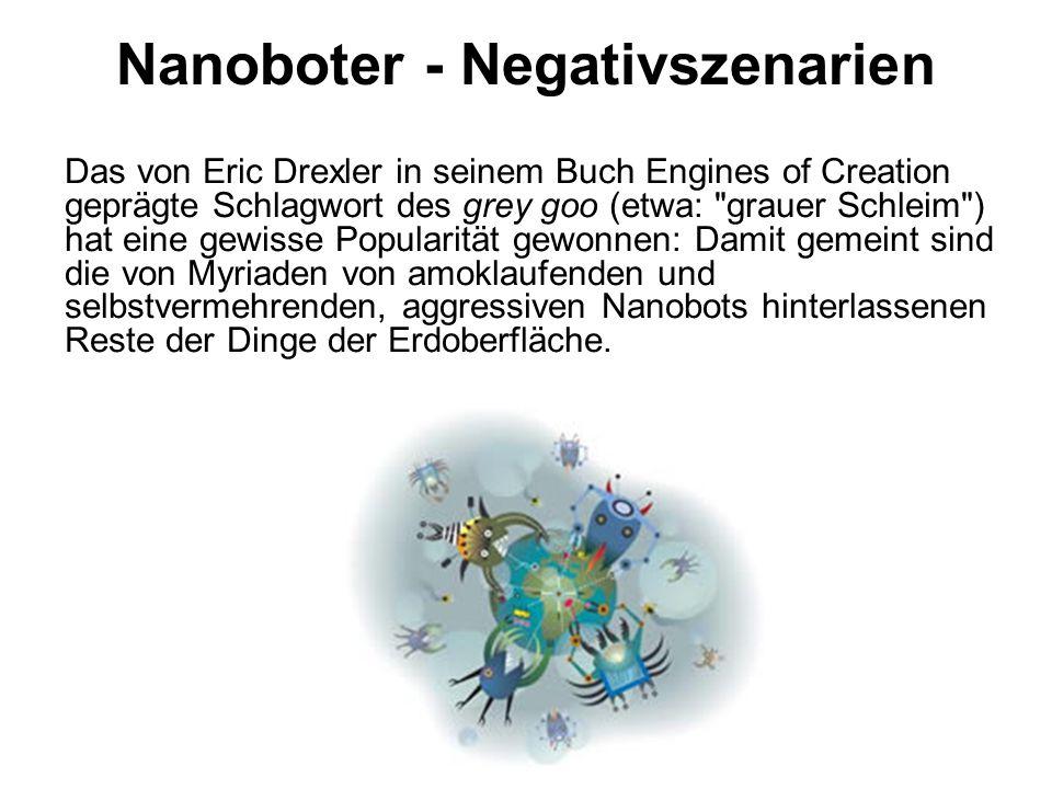 Nanoboter - Negativszenarien