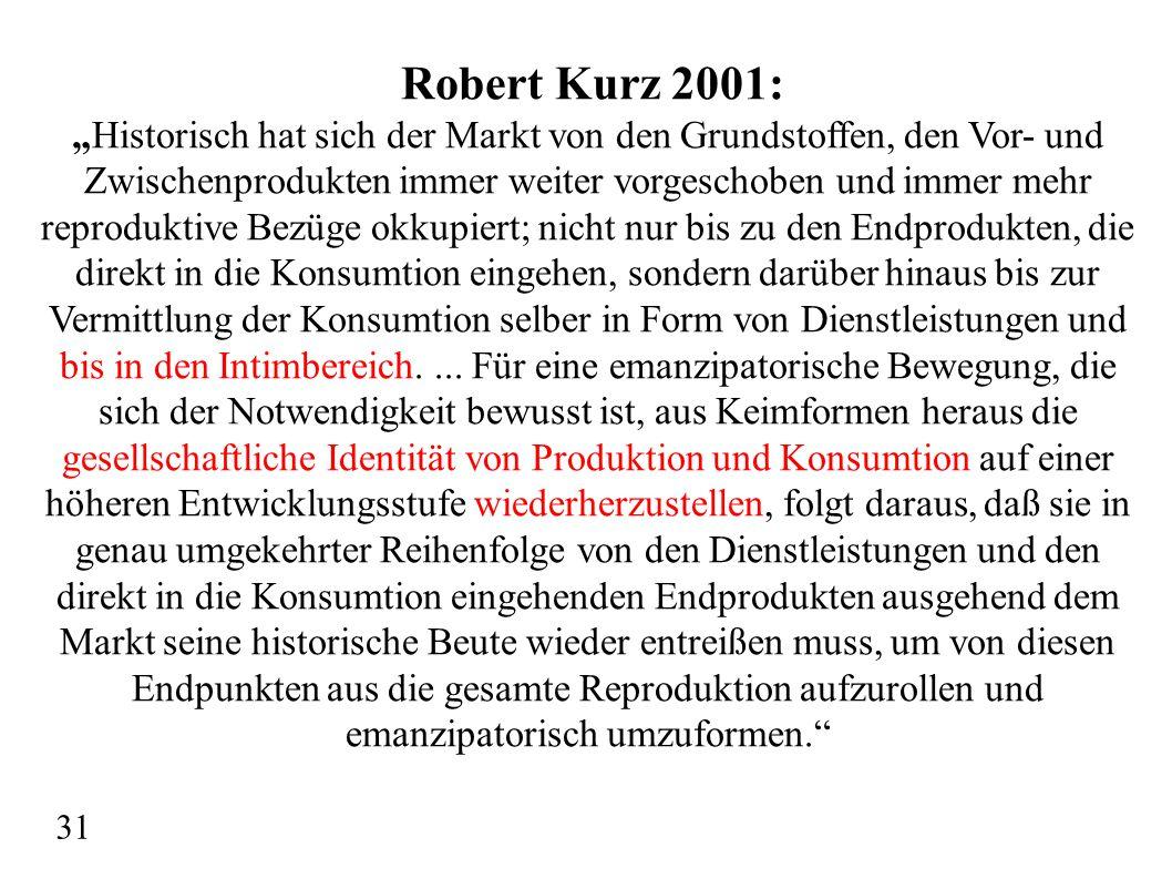 Robert Kurz 2001: