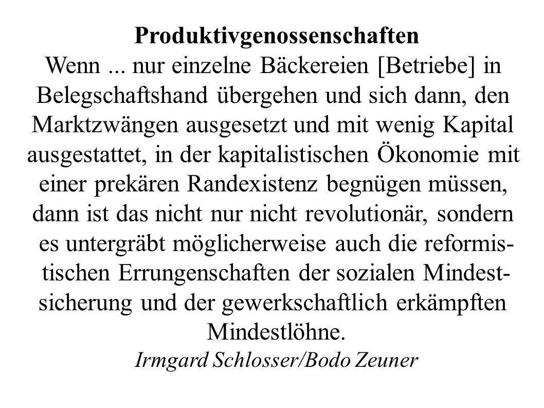 Produktivgenossenschaften