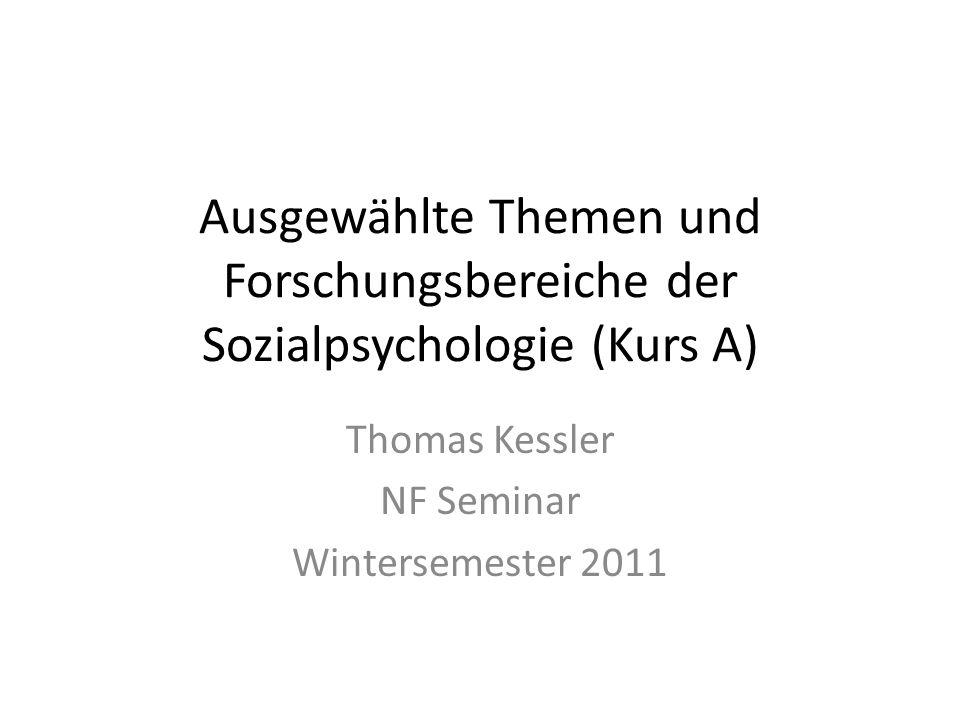 Thomas Kessler NF Seminar Wintersemester 2011