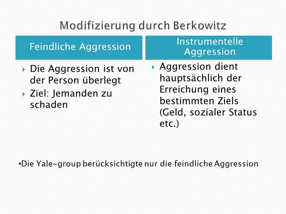 Modifizierung durch Berkowitz