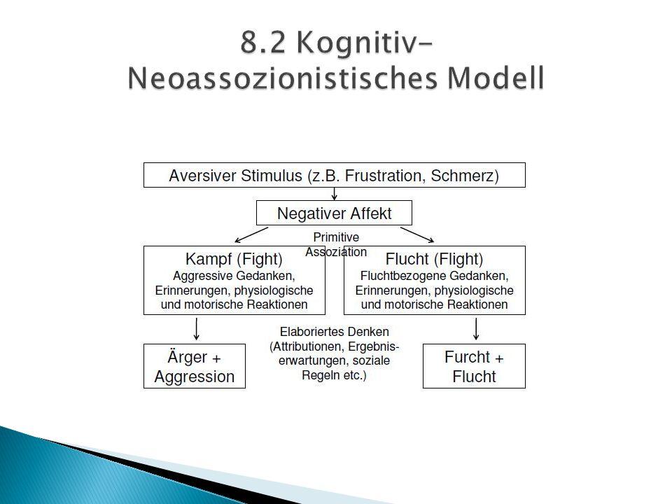 8.2 Kognitiv- Neoassozionistisches Modell