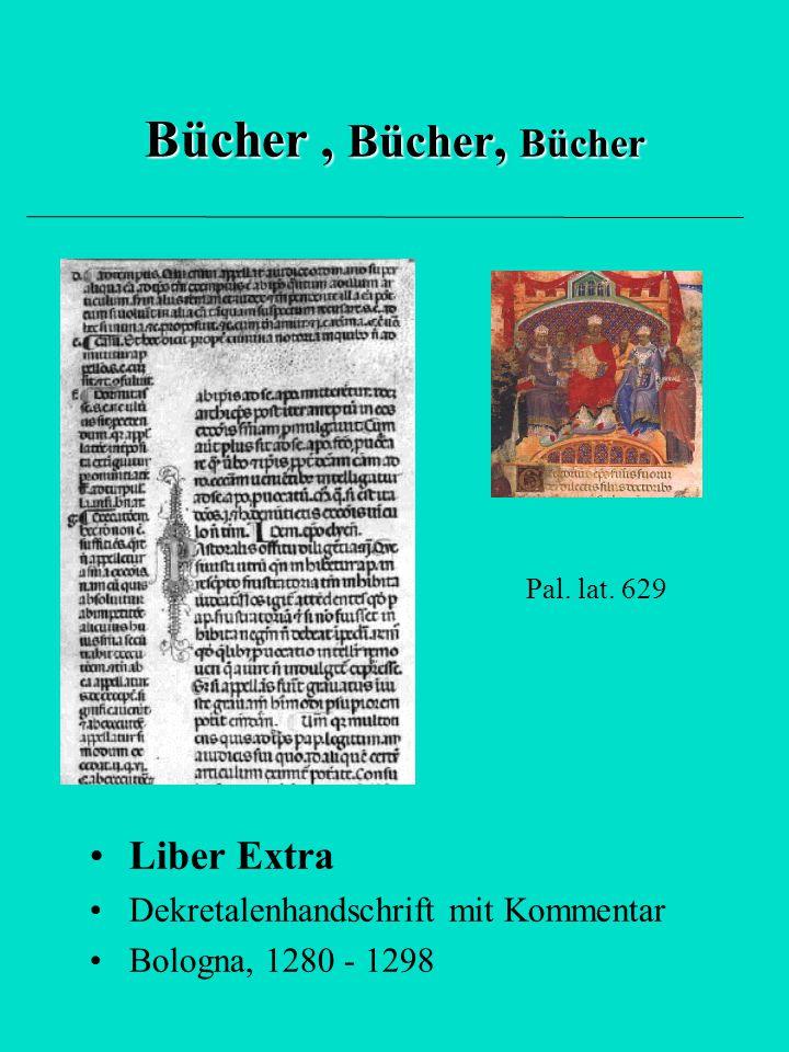 Bücher , Bücher, Bücher Liber Extra