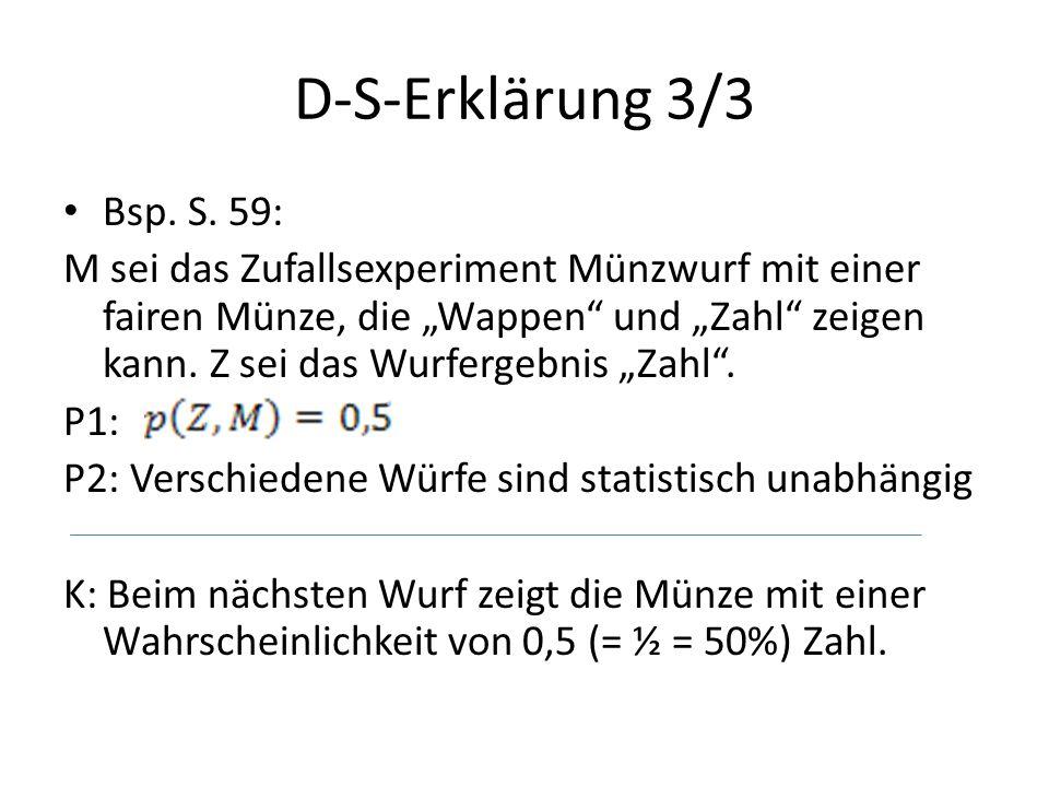D-S-Erklärung 3/3 Bsp. S. 59: