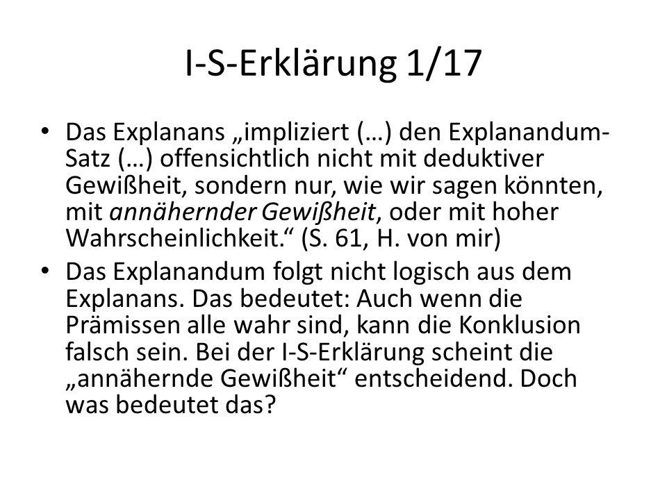 I-S-Erklärung 1/17