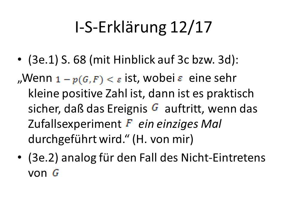 I-S-Erklärung 12/17 (3e.1) S. 68 (mit Hinblick auf 3c bzw. 3d):