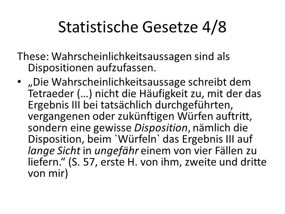 Statistische Gesetze 4/8
