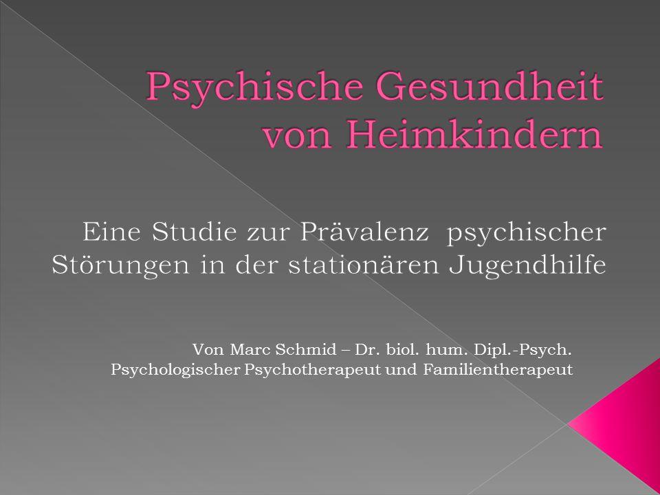Psychische Gesundheit von Heimkindern