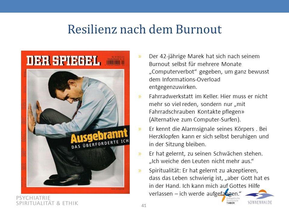 Resilienz nach dem Burnout