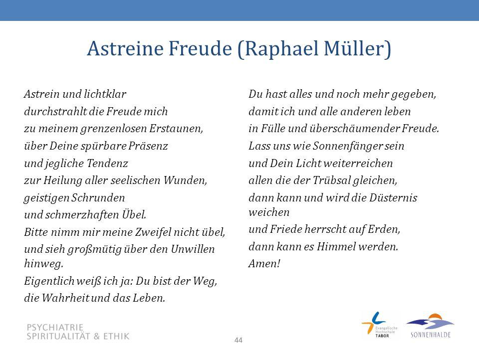 Astreine Freude (Raphael Müller)