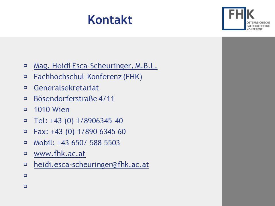 Kontakt Mag. Heidi Esca-Scheuringer, M.B.L.
