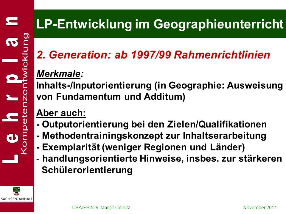 LP-Entwicklung im Geographieunterricht