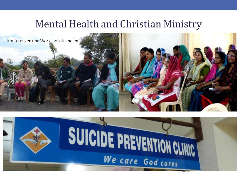 Mental Health and Christian Ministry