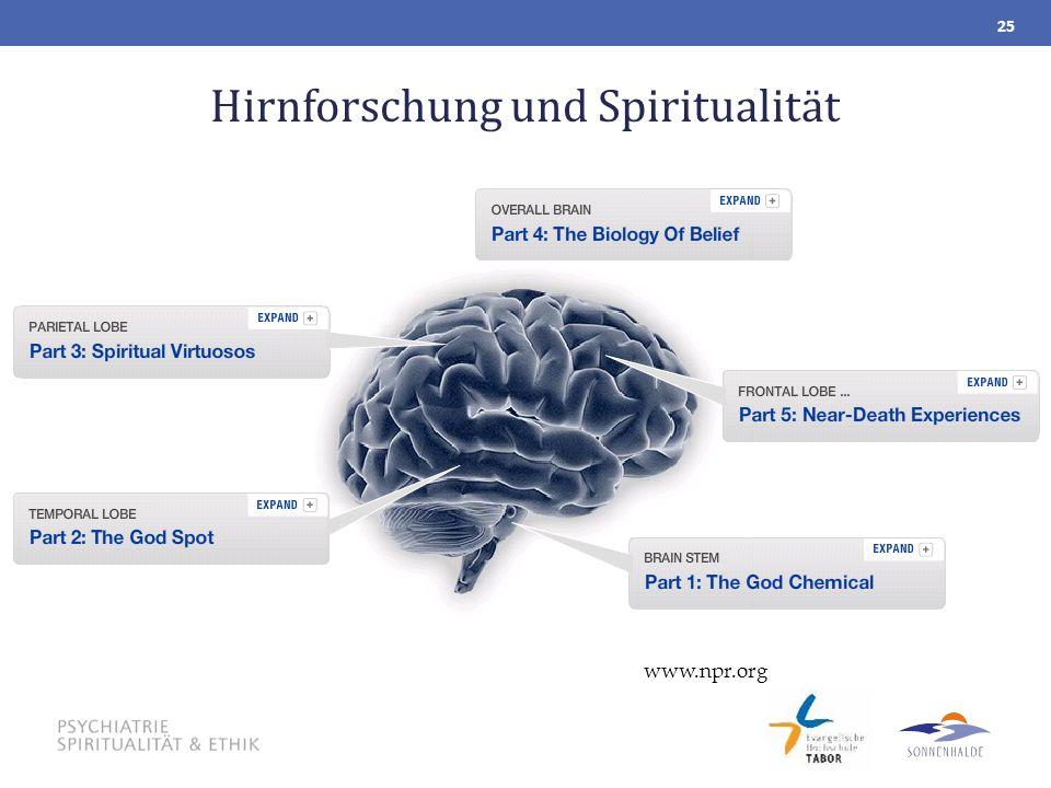 Hirnforschung und Spiritualität