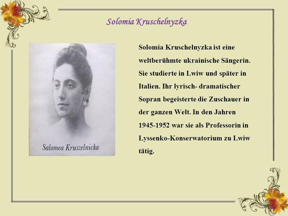 Solomia Kruschelnyzka