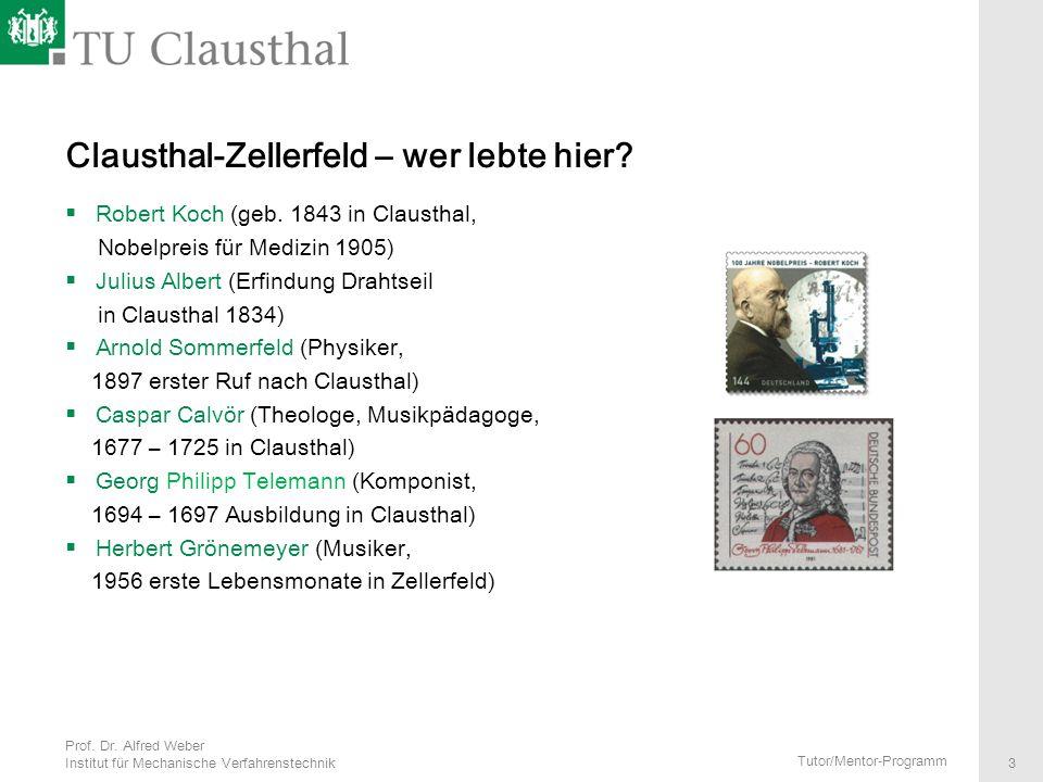 Clausthal-Zellerfeld – wer lebte hier