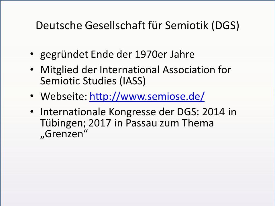 Deutsche Gesellschaft für Semiotik (DGS)