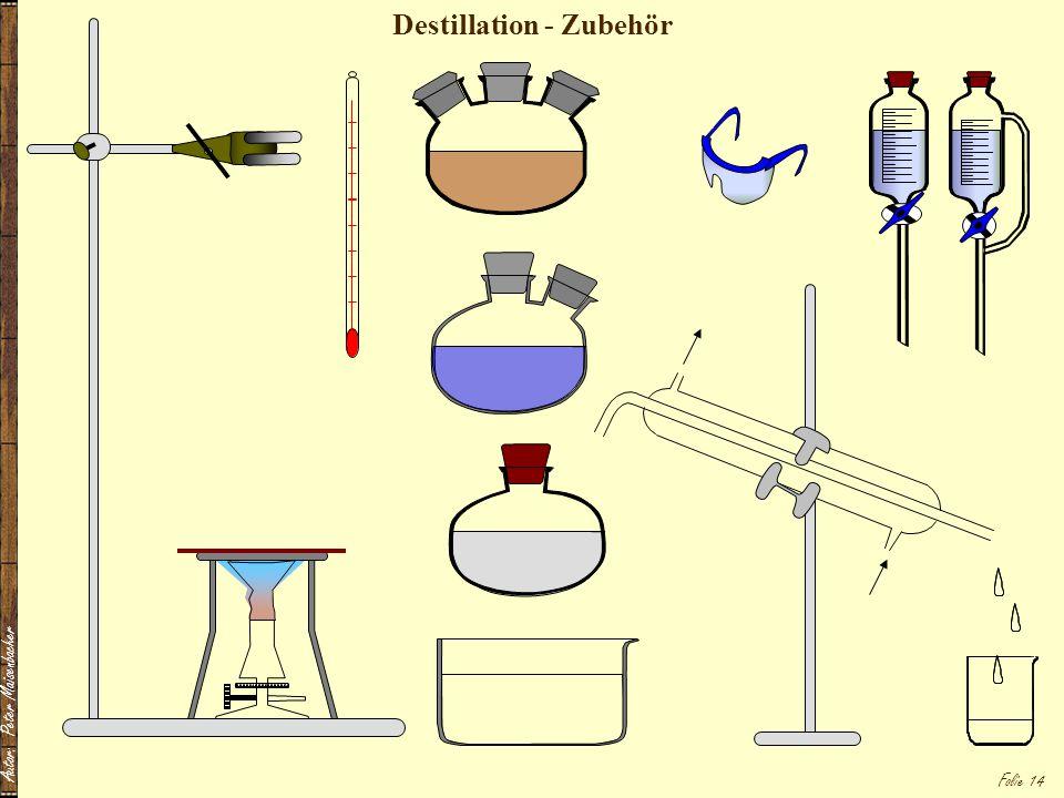 Destillation - Zubehör