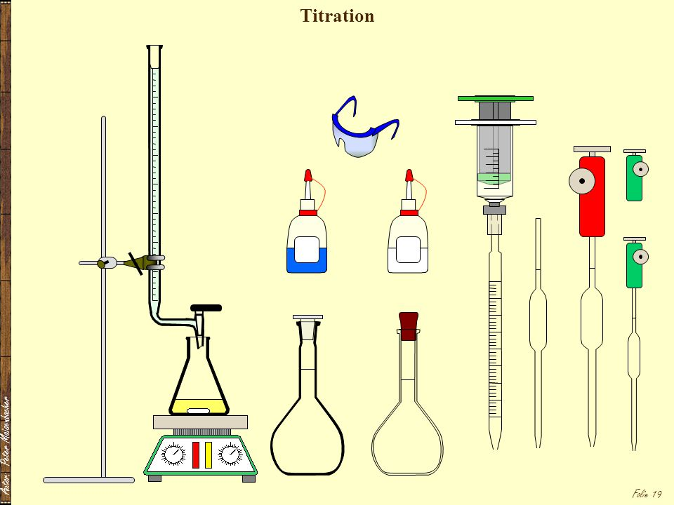 Titration Autor: Peter Maisenbacher