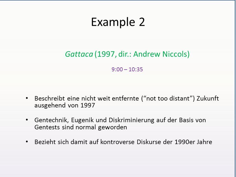 Gattaca (1997, dir.: Andrew Niccols)