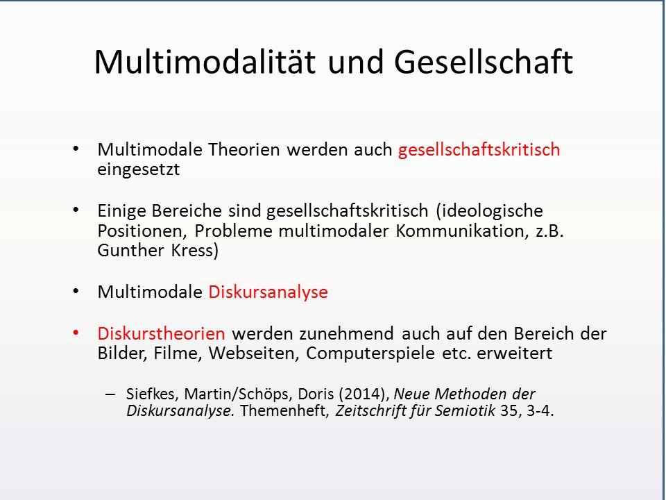 Multimodalität und Gesellschaft